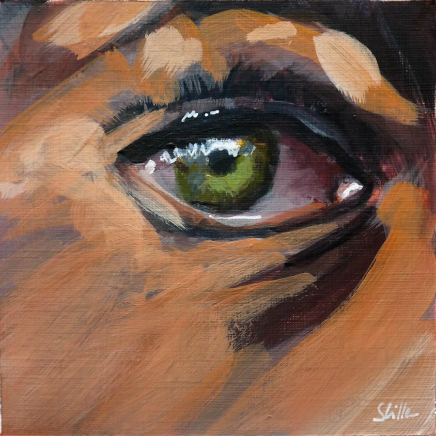"""""""1818 Eye Sight 2"""" original fine art by Dietmar Stiller"""