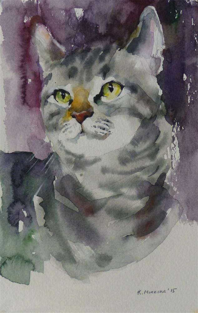 """adopt133"" original fine art by Katya Minkina"