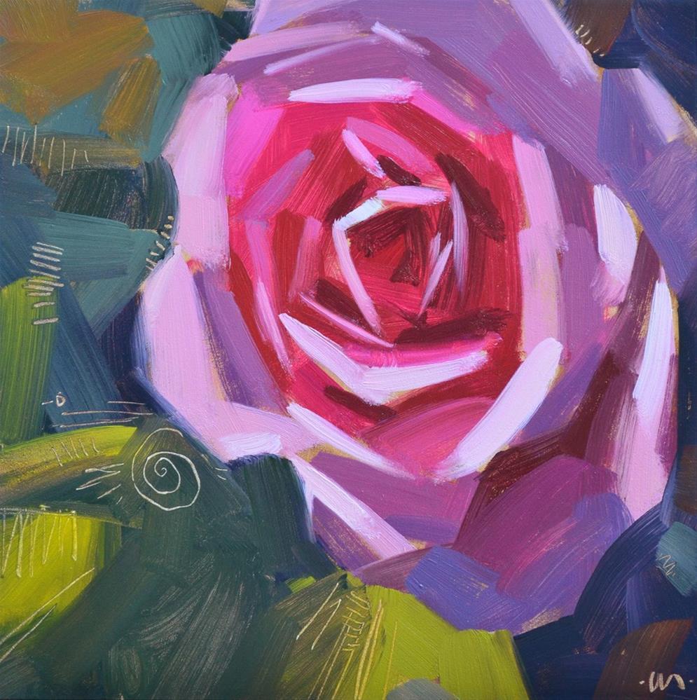 """Purple Haze"" original fine art by Carol Marine"