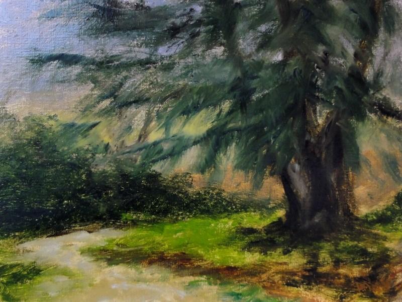 """Big Pine"" original fine art by Dalan Wells"