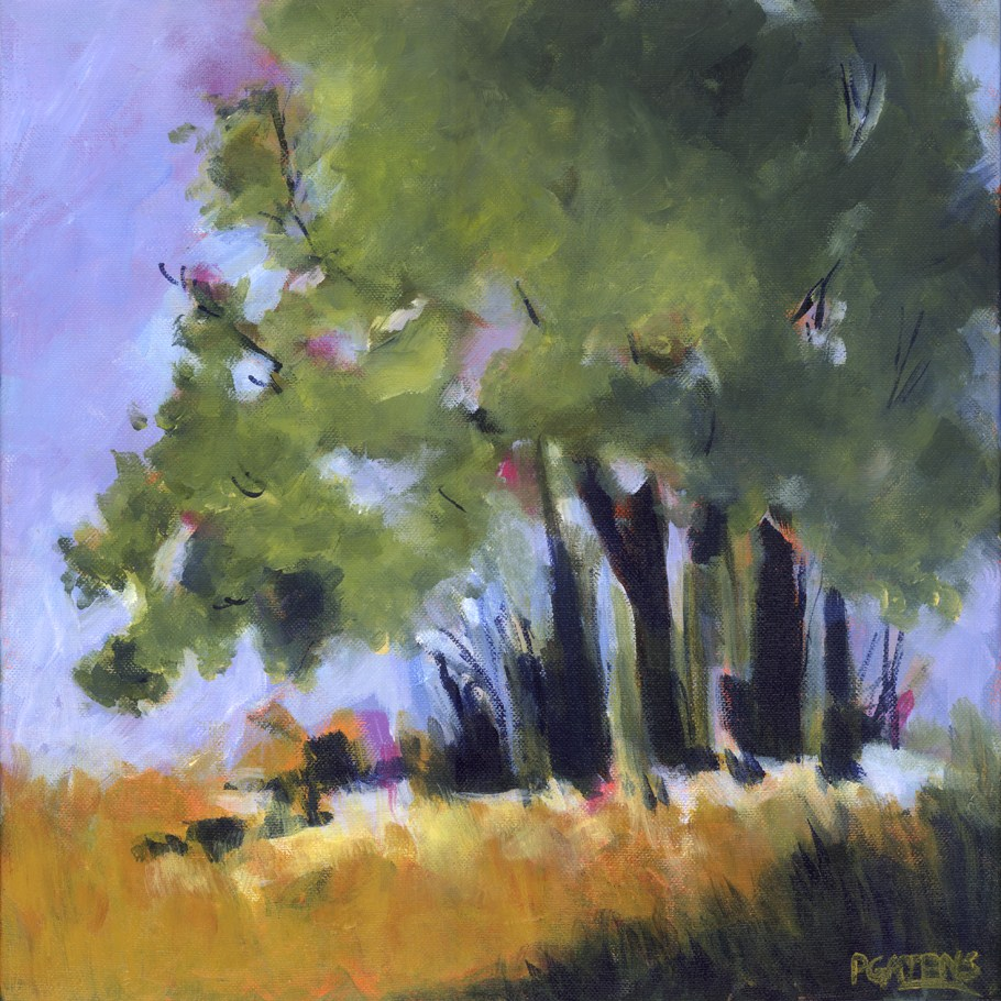 Abstract Trees original fine art by Pamela Gatens
