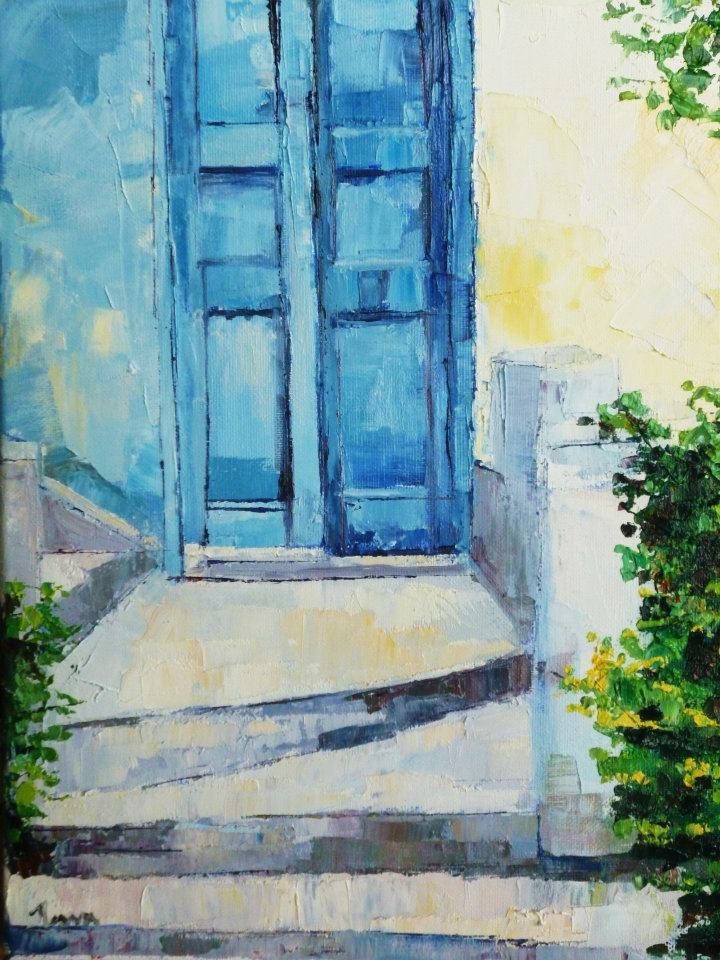 """Quiet Retreat"" original fine art by Nava Judith"