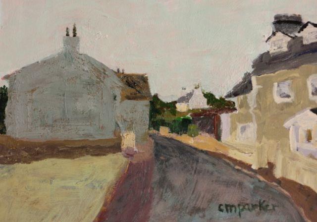 """Isle of Mann"" original fine art by Christine Parker"