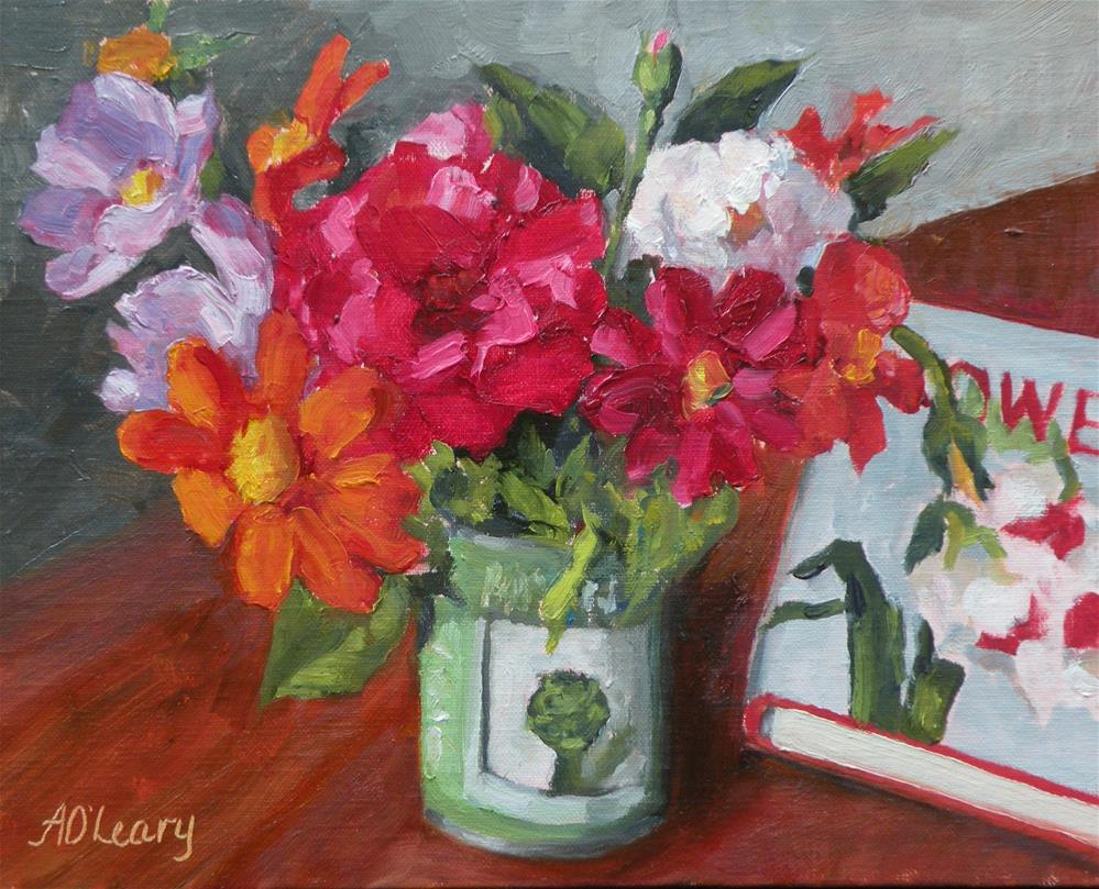 """Flowers for Mom"" original fine art by Alice O'Leary"