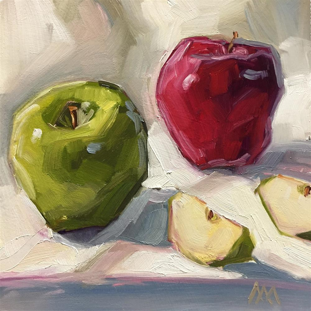 """Dancing Apples"" original fine art by Austin Maloney"