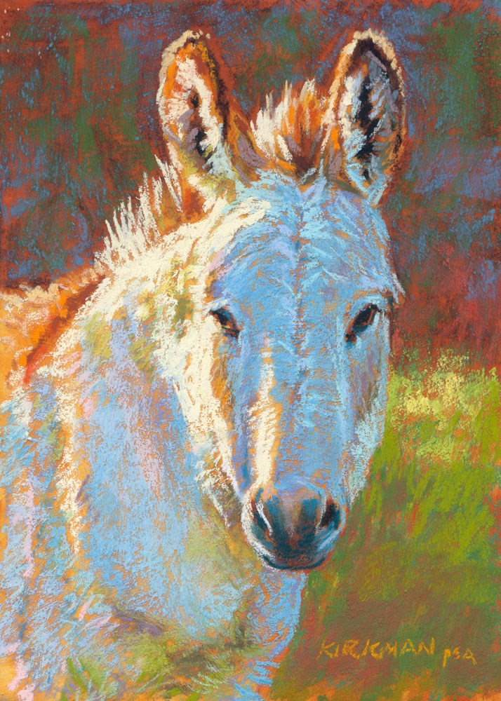 """Donna Kylily"" original fine art by Rita Kirkman"