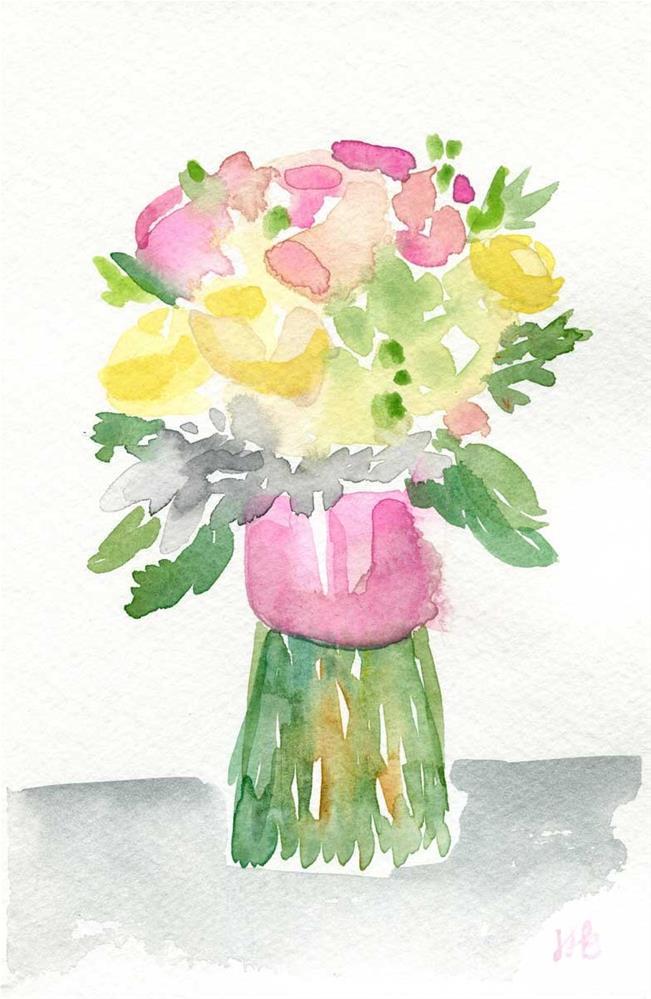 """Wedding Season"" original fine art by Heather Bennett"