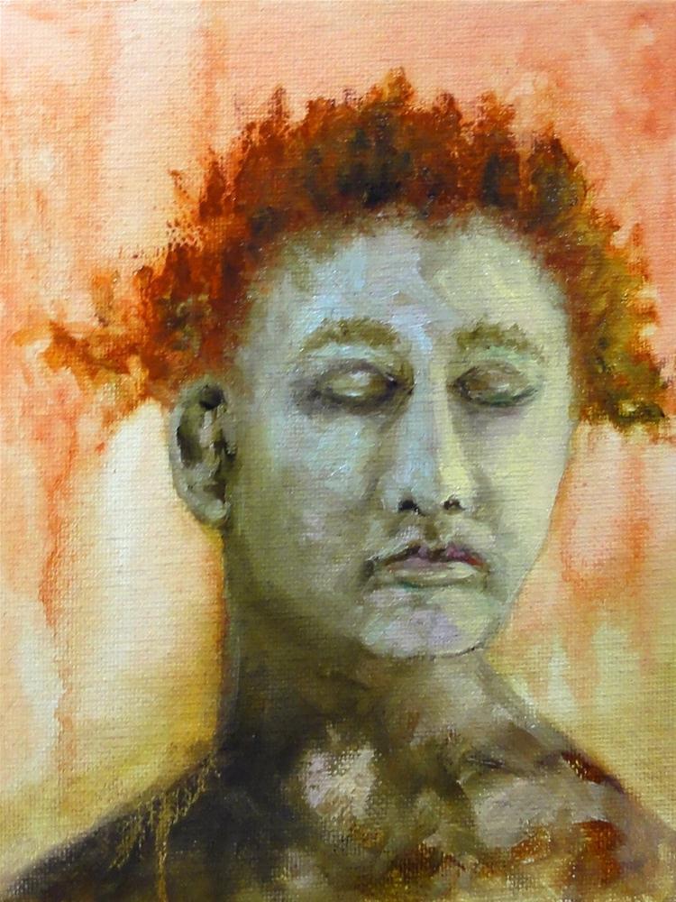 """Blue Ginger"" original fine art by Dalan Wells"
