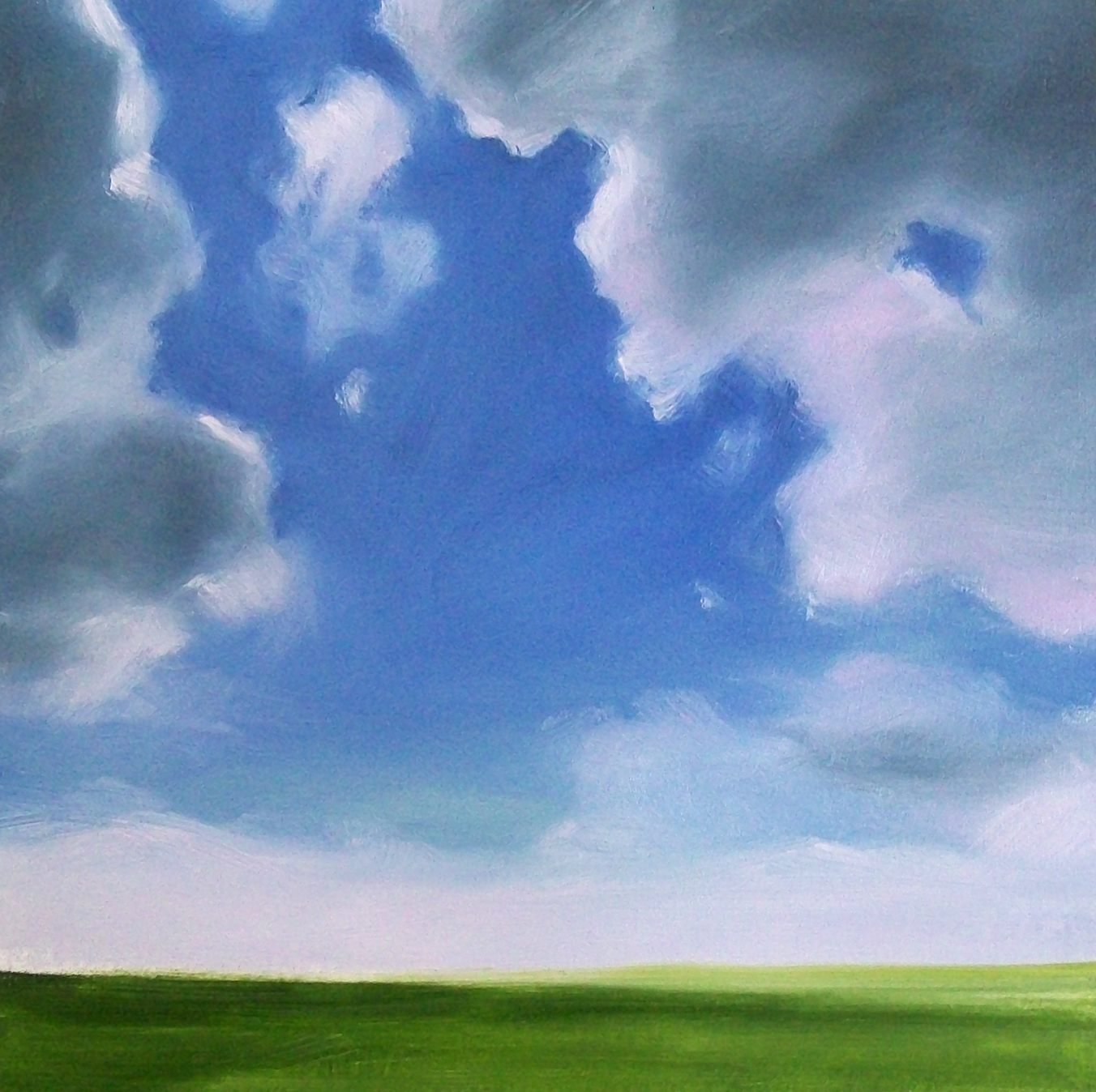 """summer field"" original fine art by Brandi Bowman"