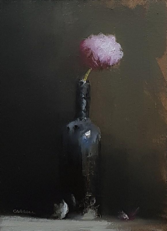 """""""Peony Bottle"""" original fine art by Neil Carroll"""