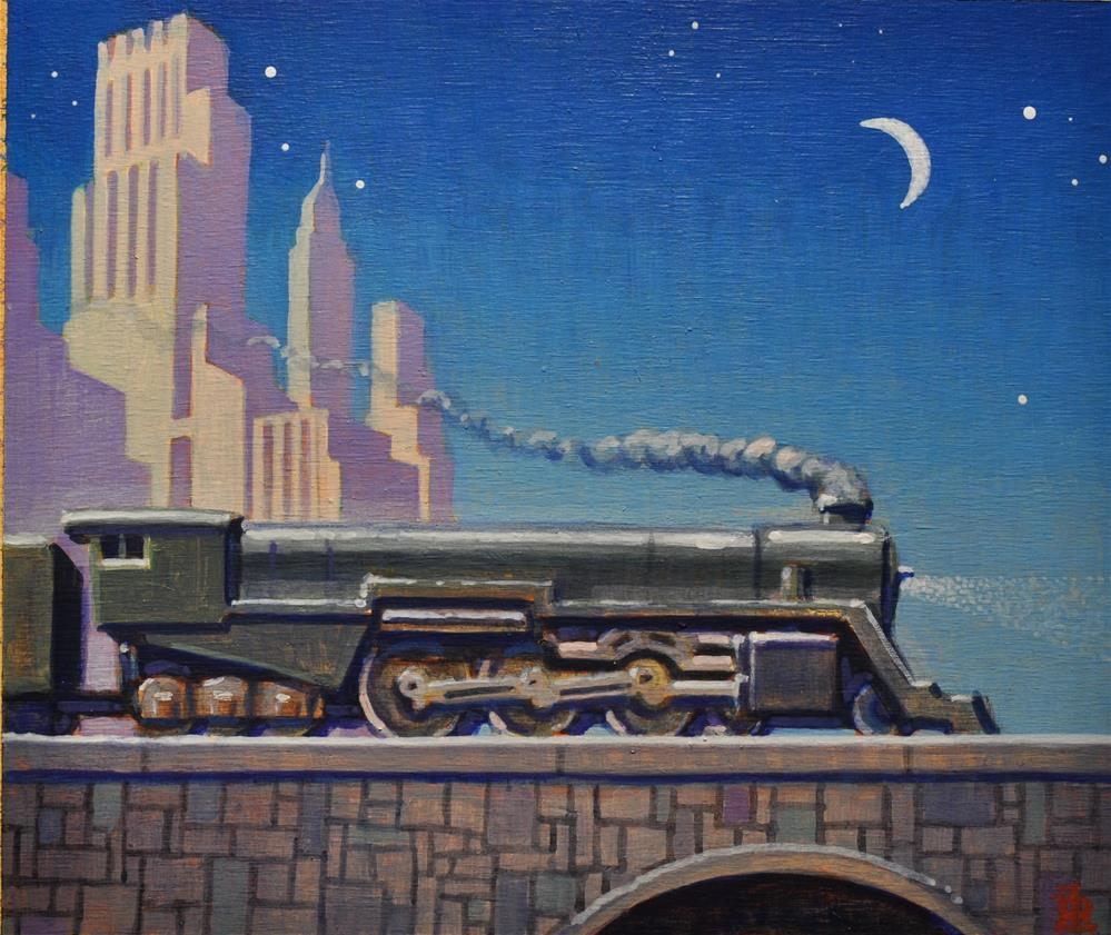 """Steam"" original fine art by Robert LaDuke"