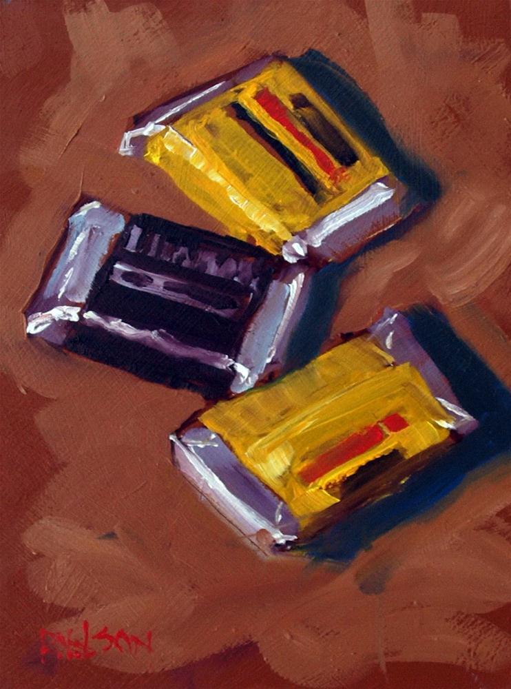 """Hershey Miniatures"" original fine art by Rick Nilson"