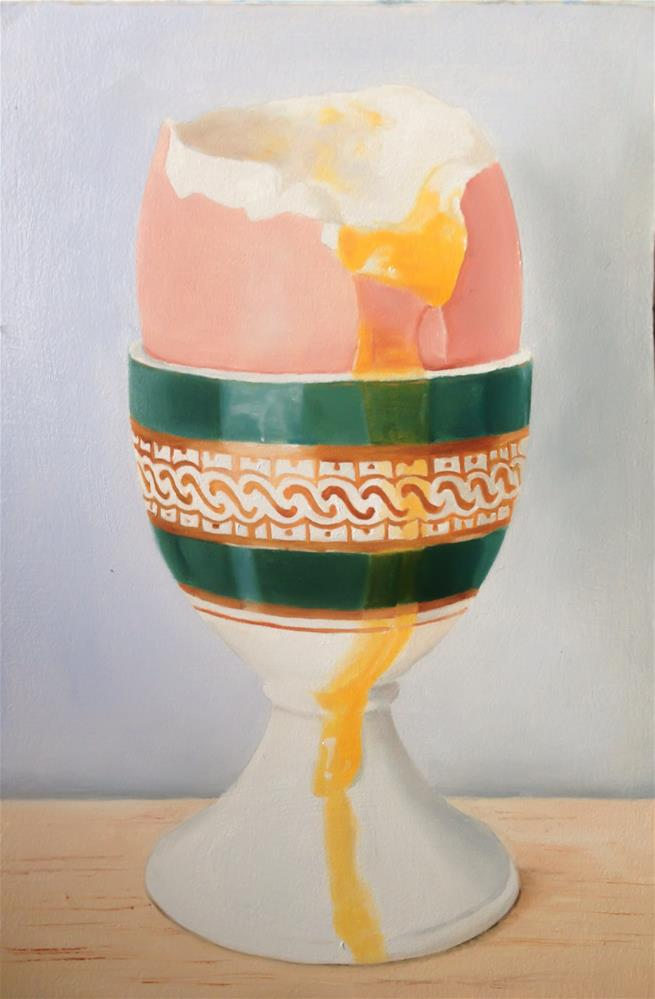 """Egg, Soft Boiled"" original fine art by James Coates"