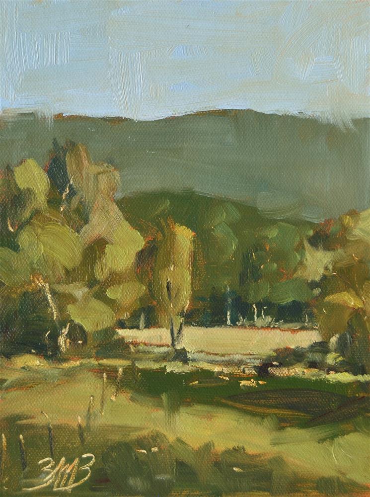 """""""Warm View"""" original fine art by Brienne M Brown"""