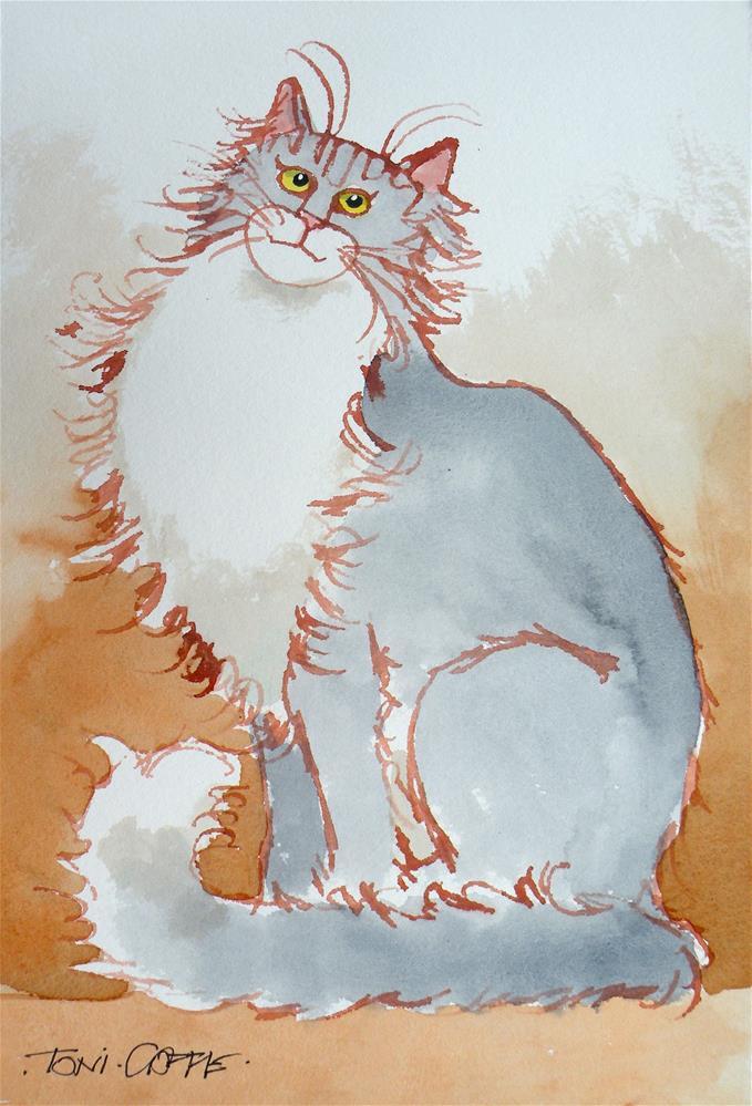 """The Duchess"" original fine art by Toni Goffe"