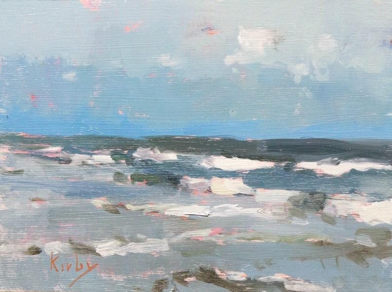 """Blue Mile"" original fine art by Randall Cogburn"