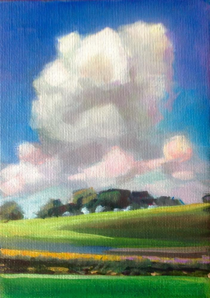 """Summer Day in The Midwest"" original fine art by Susan Suraci"