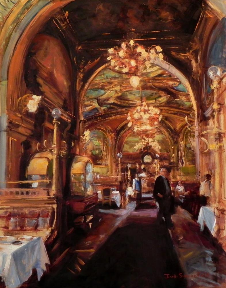 """Ornate Interior"" original fine art by Jonelle Summerfield"