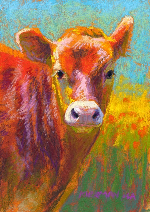 """Mango - day 6"" original fine art by Rita Kirkman"