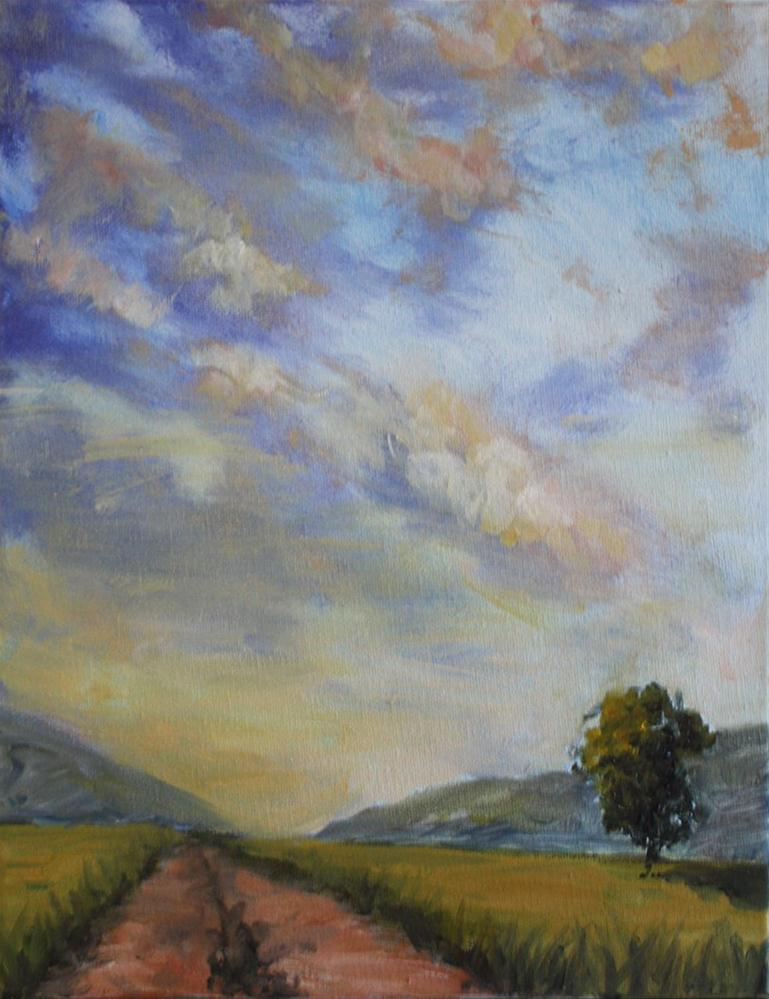 """Majestic Sky"" original fine art by Shannon Bauer"
