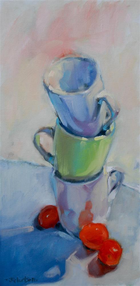 """A Fine Balance"" original fine art by Jane Robertson"