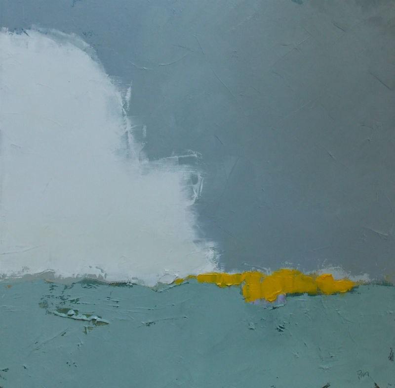 """Intrepid Yellow"" original fine art by Pamela Munger"