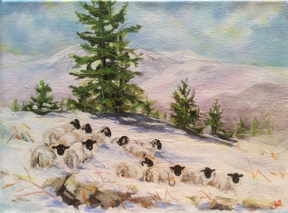 """Going home"" original fine art by wendy black"
