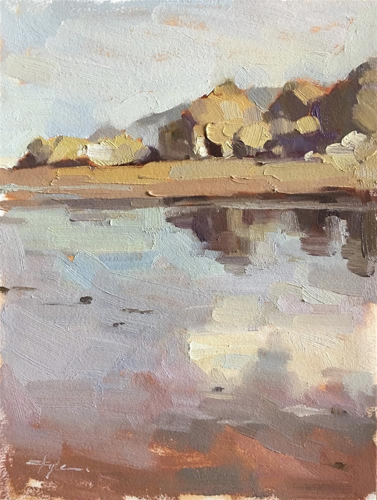 """Speck of Cascade Head"" original fine art by Katia Kyte"