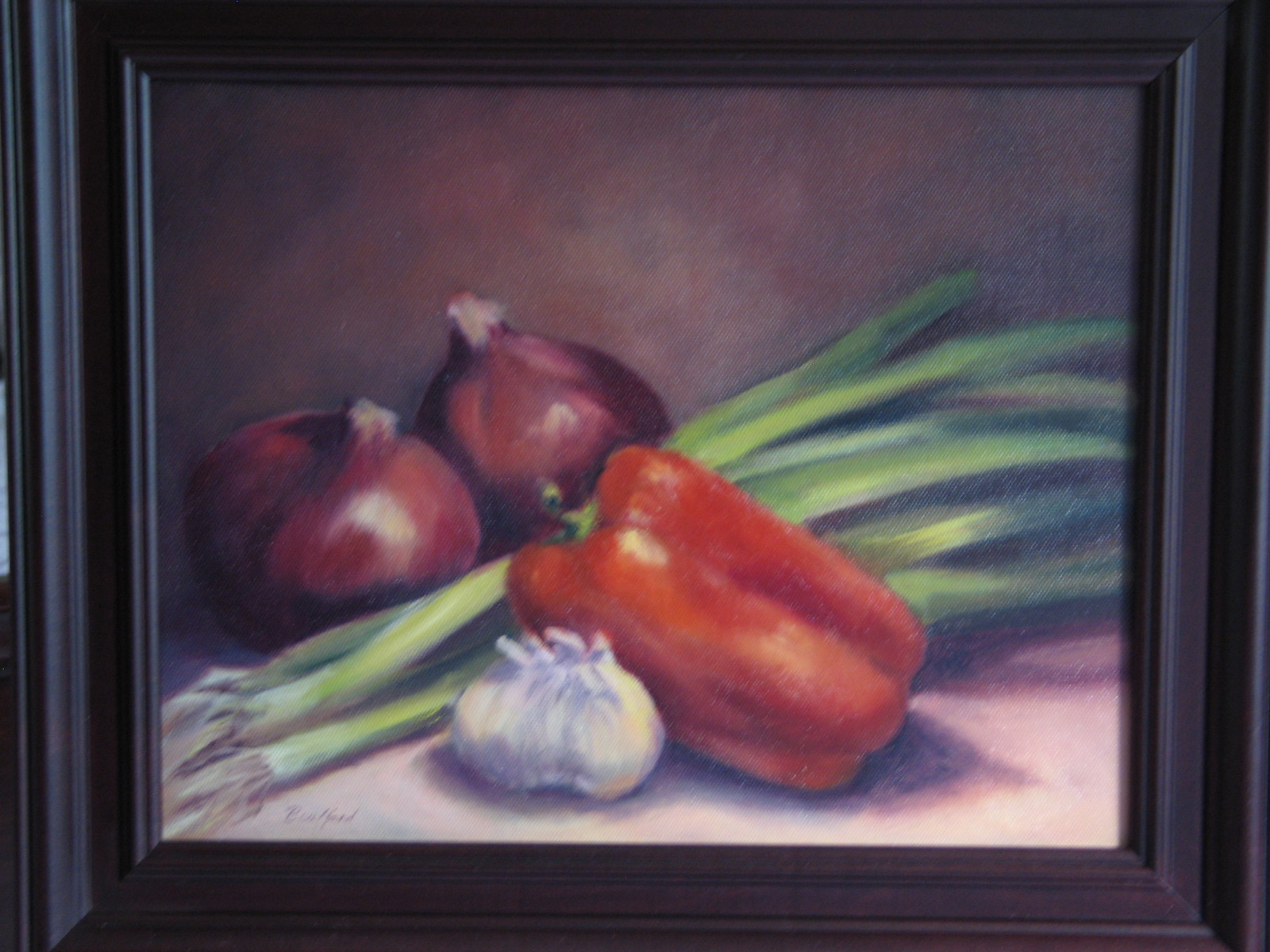 """Let's Cook"" original fine art by Vikki Bouffard"
