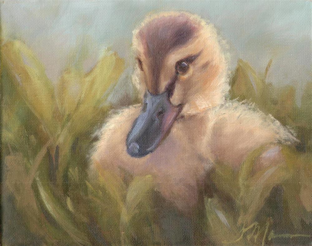 """""""Nestled"""" original fine art by Susie Monzingo"""
