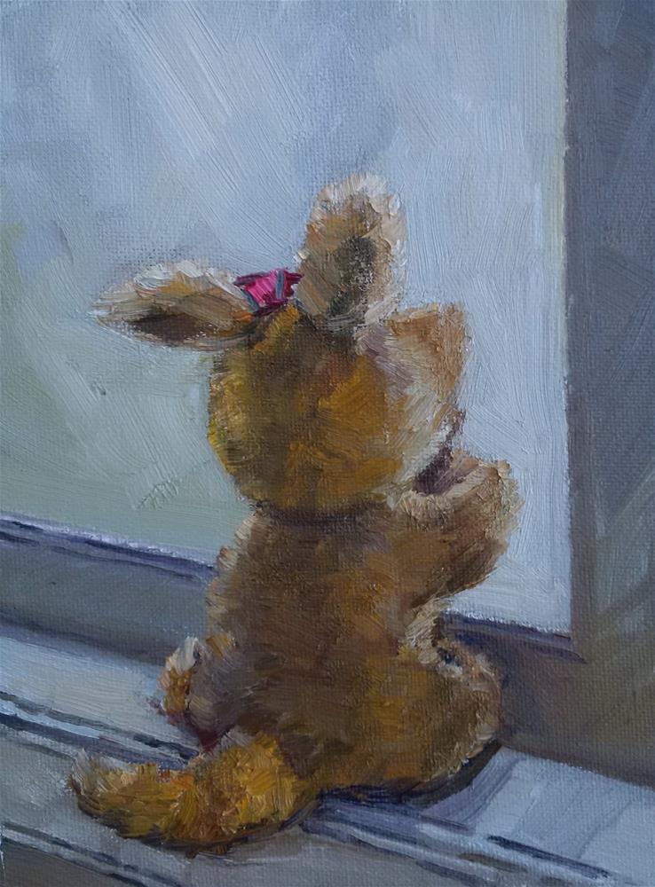 """Window"" original fine art by Hansen Tsien"
