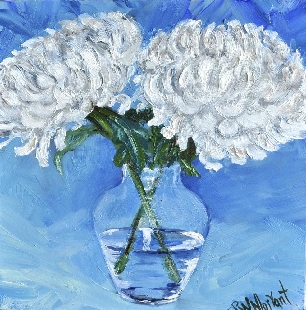 """A Pair in a Glass"" original fine art by Peggy W Morvant"