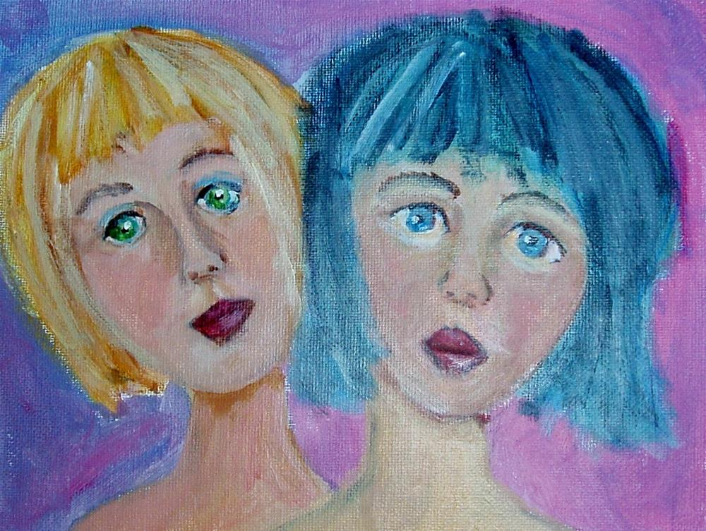 """BFF"" original fine art by Gerri Obrecht"