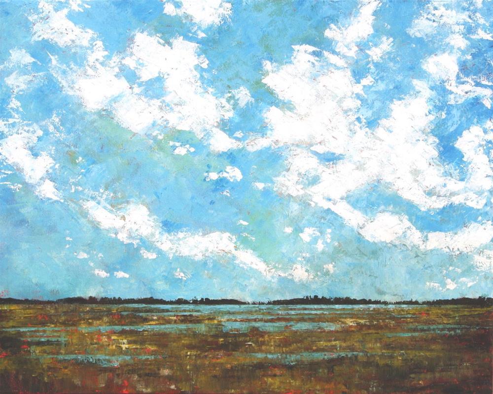 """Prairie Sky"" original fine art by Sage Mountain"