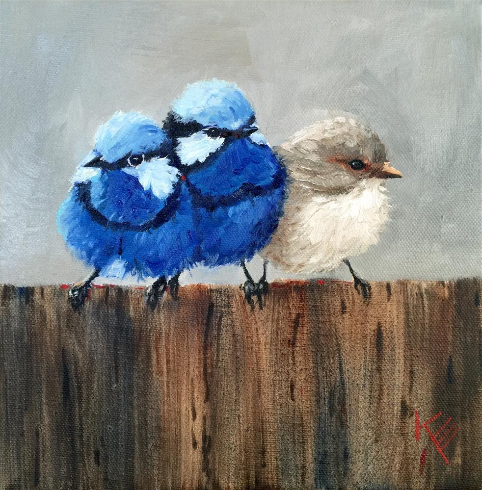 """Blues Brothers"" original fine art by Krista Eaton"