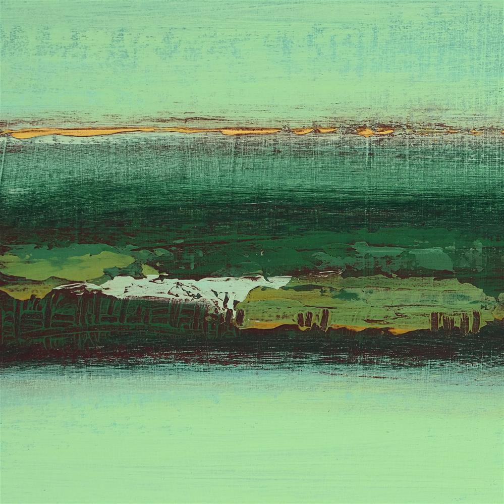 """Landscape 258"" original fine art by Ewa Kunicka"