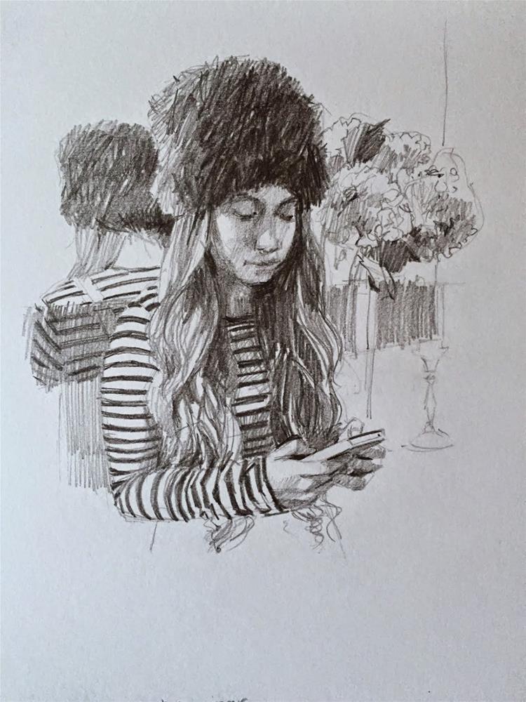 """Musical Interlude"" original fine art by Haidee-Jo Summers"