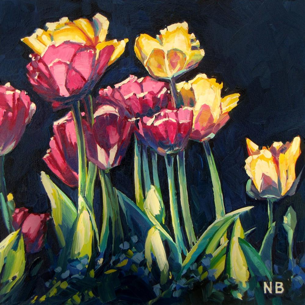 """Tulips!"" original fine art by Nora Bergman"