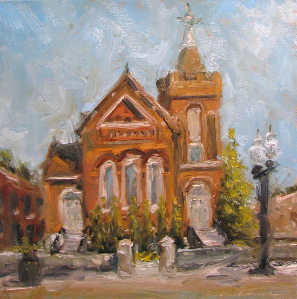 """Sanctuary"" original fine art by Susan Elizabeth Jones"