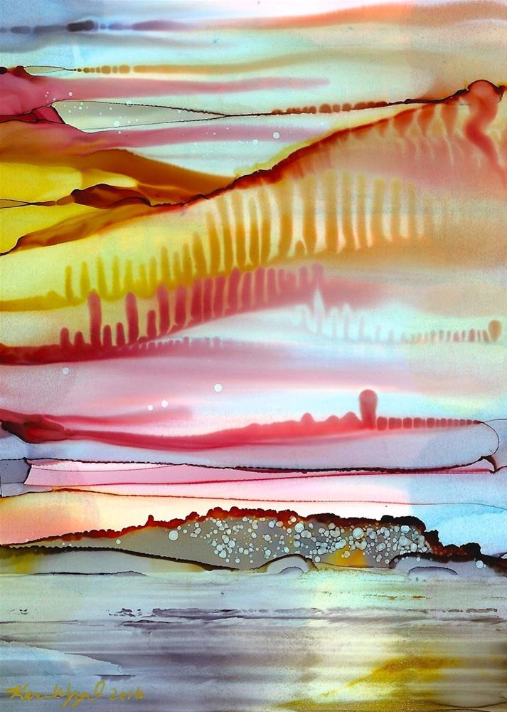 """Thinking of You"" original fine art by Karen Wysopal"
