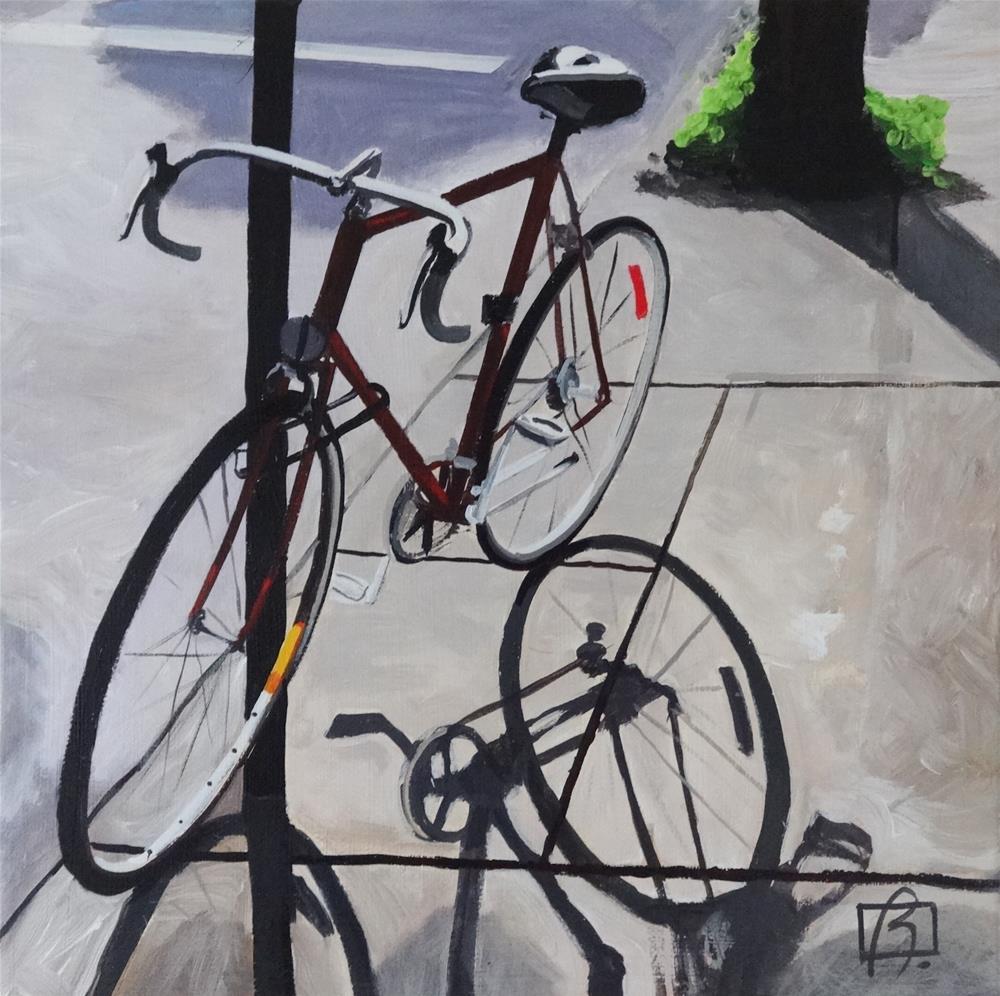 """Velo Shadow"" original fine art by Andre Beaulieu"