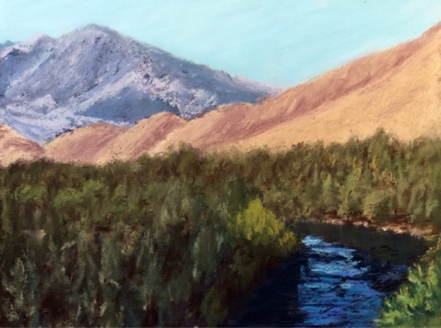 """KERN RIVER VISTA"" original fine art by Marti Walker"