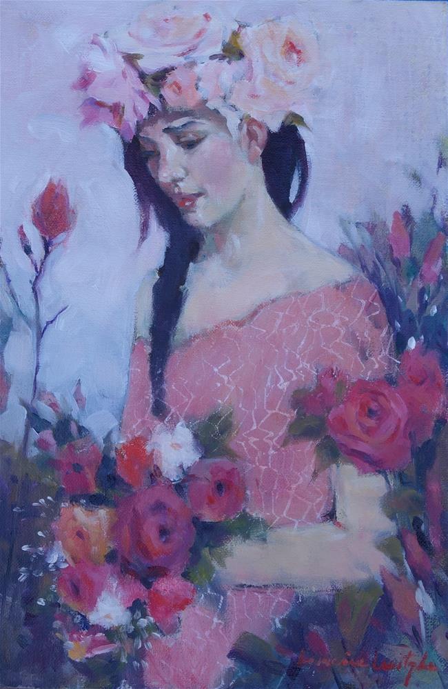 """""""Bouquet"""" original fine art by Lorraine Lewitzka"""