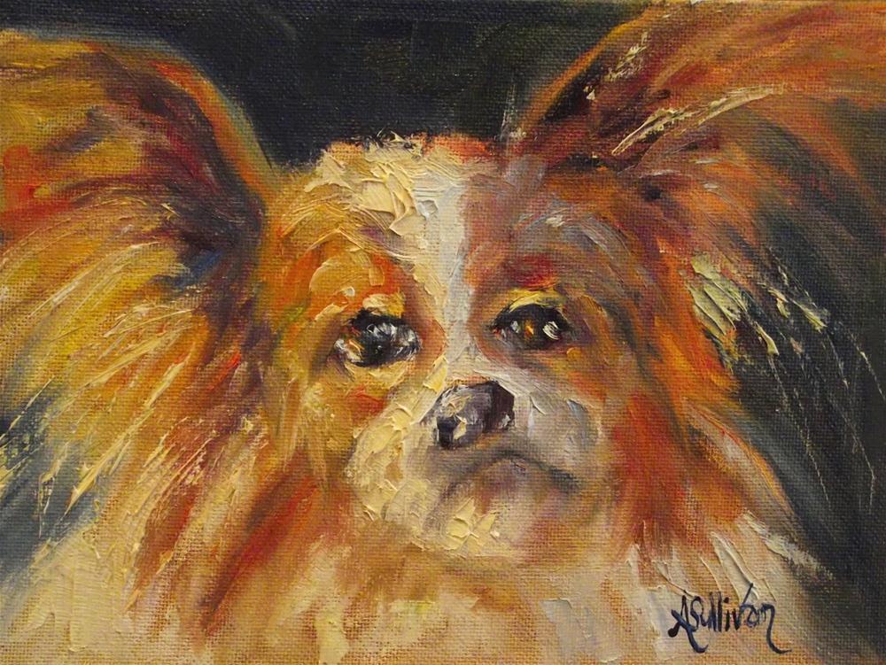 """""""Pappy"""" original fine art by Angela Sullivan"""