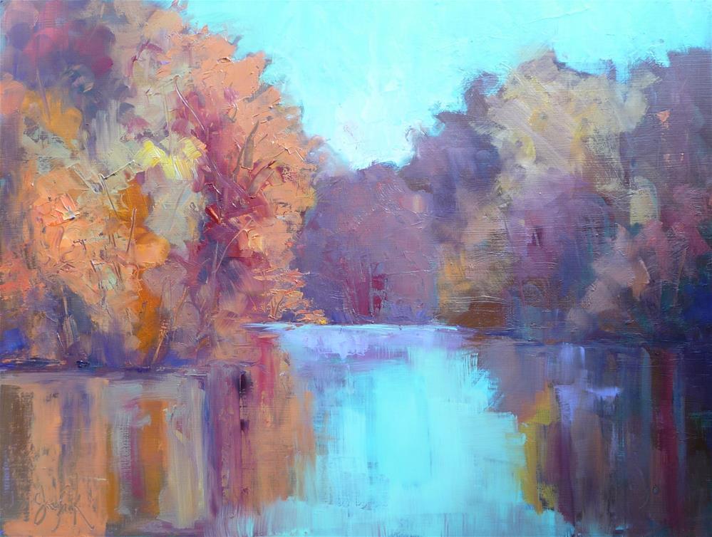 """Reflections"" original fine art by Carol Josefiak"