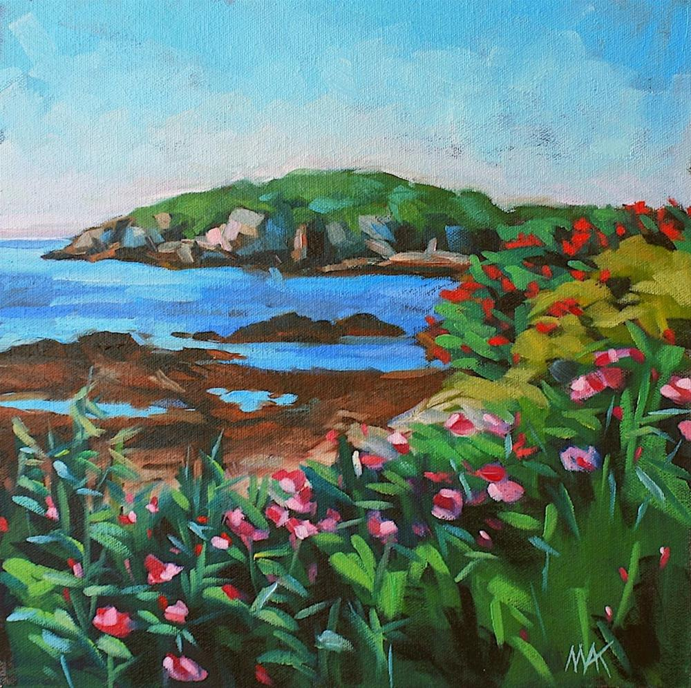 """Whitehead Passage 2"" original fine art by Mary Anne Cary"