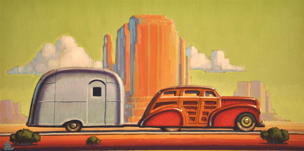 """Monument Valley"" original fine art by Robert LaDuke"