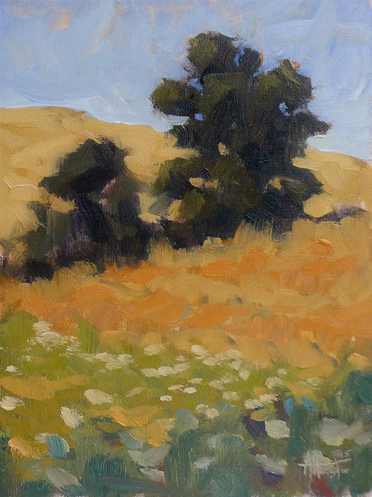 """Deer Creek Field"" original fine art by Adam Houston"