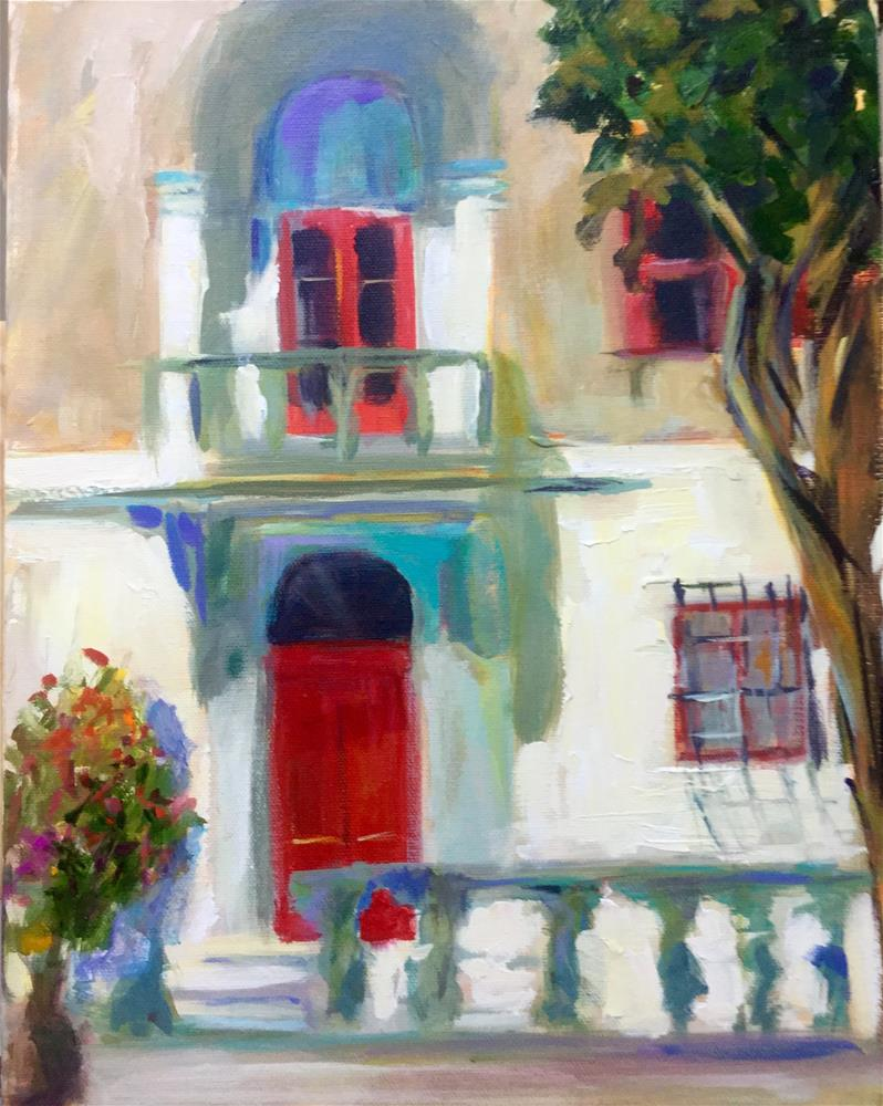 """Lovely Light in Mdina Malta"" original fine art by Beth Carrington Brown"