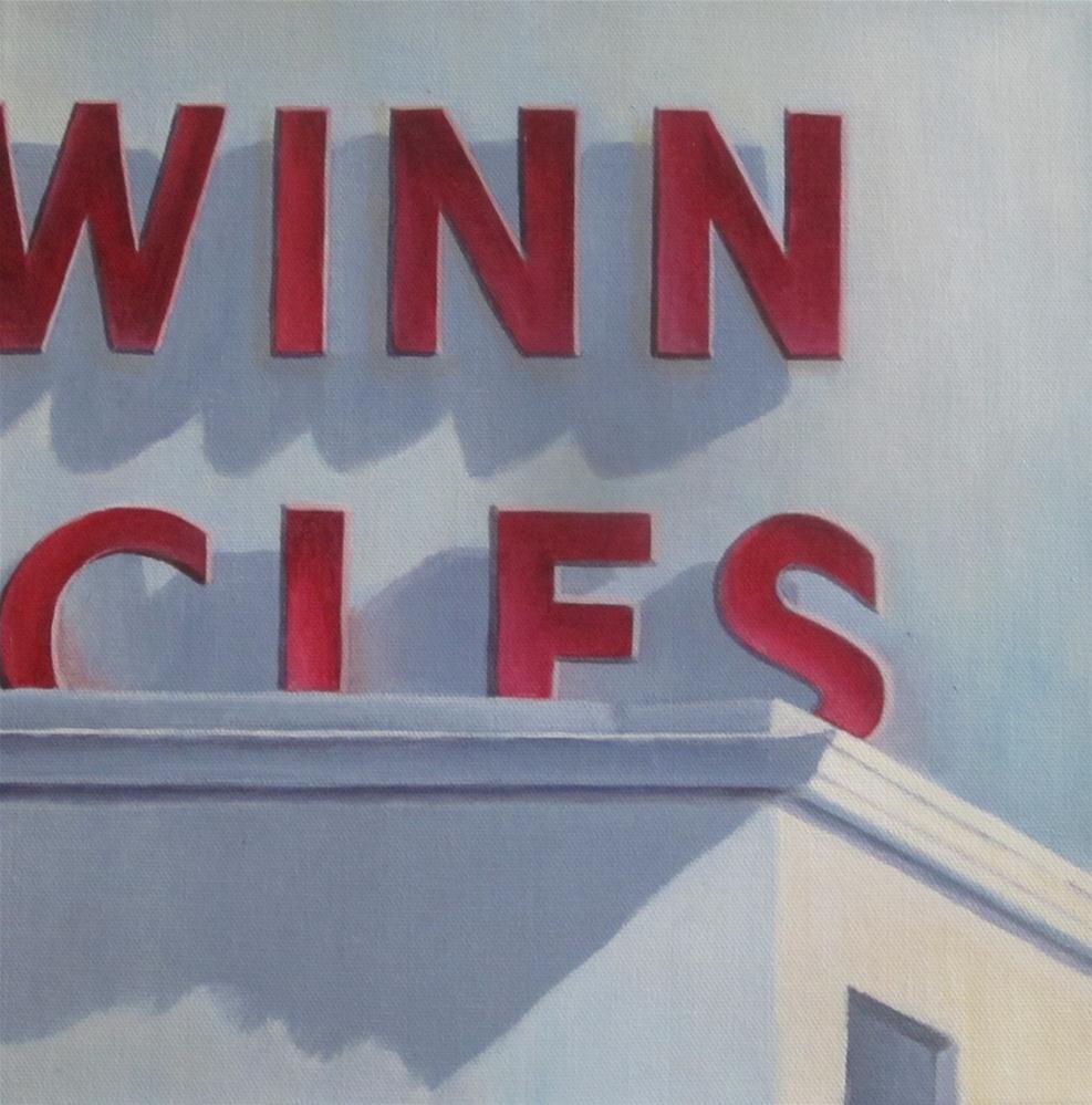 """Schwinn Bicyclery"" original fine art by Debbie Shirley"